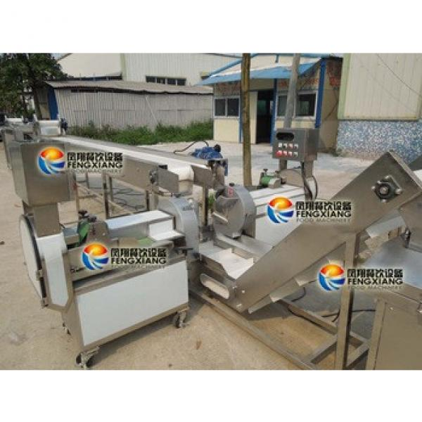 QX-3000 Automatic Potato Chips Making Machine, Production Line (Stainless Steel, Food-grade Parts)...Nice!
