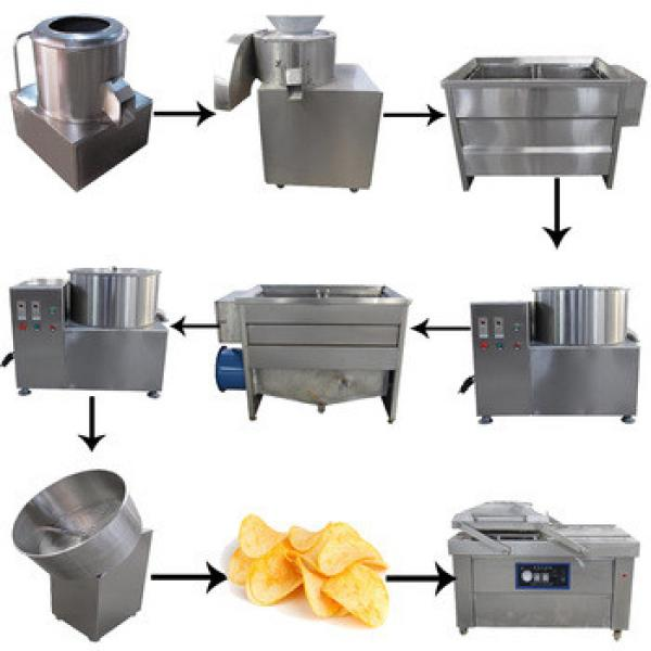 100KG/H Self Automatic Frozen Fresh Flake Potato Chips Making Machine In India