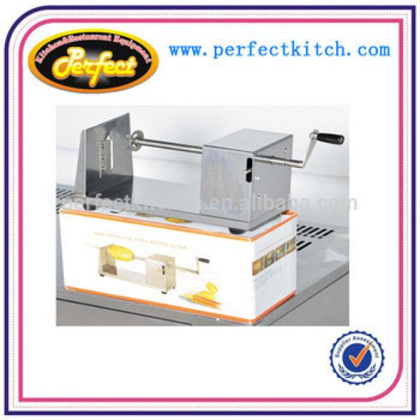 Selling best twisted chips potato cutter/ Commercial potato cutter machine spiral