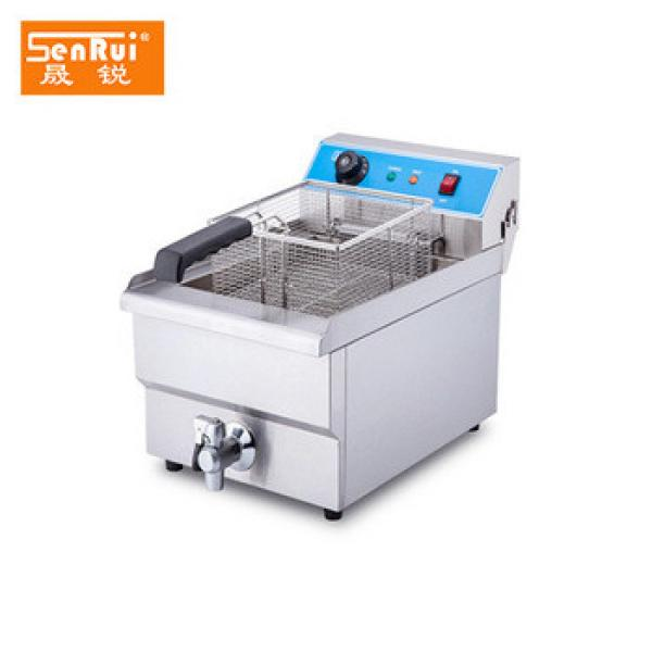 Fast food restaurant equipment commercial chicken pressure fryer potato chips making machine