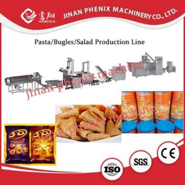 high automatic bugles corn chips food making machine