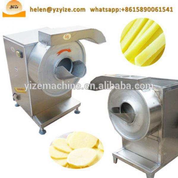 Potato slicer / potato peeling and cutting / potato chips making machine price