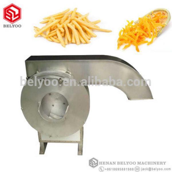French fries making machine/frozen french fries maker plant/automatic potato chips cutting machine