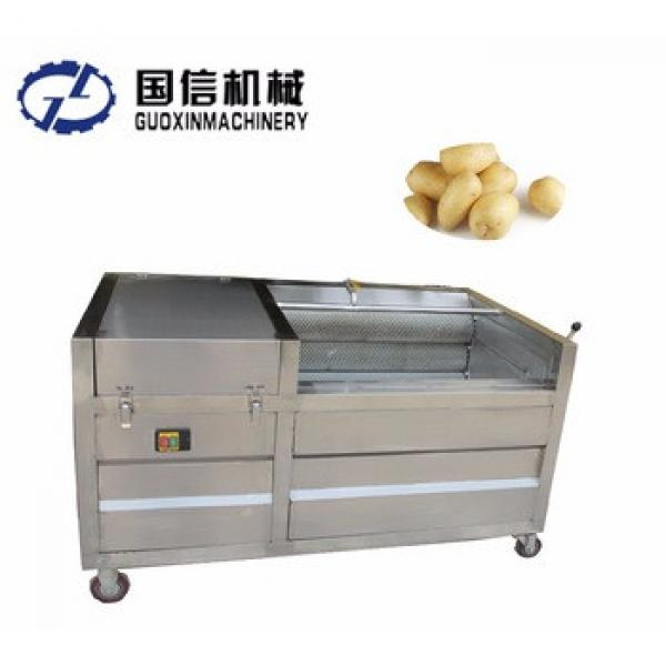 New condition automatic potato chips making machine/ potato peeler