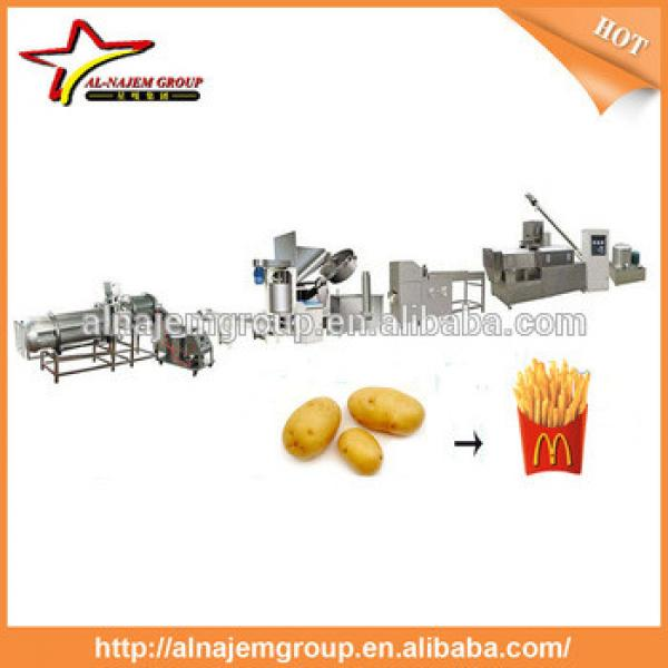 French fries production line/french fries machine/frozen french fries machinery