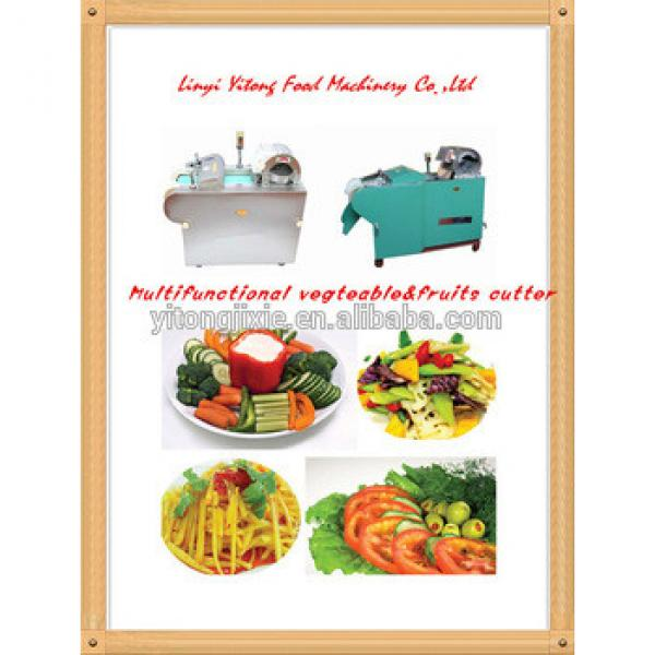 multifunctional vegetable cutter potato chips machine 130-660kg/h capacity