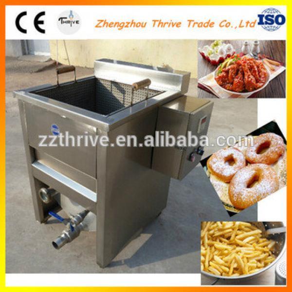 Industrial fried chicken making machine price,potato chips deep fryer