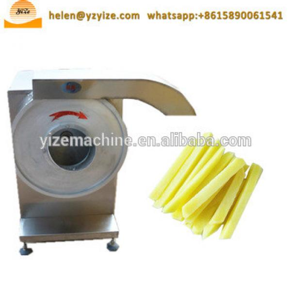 Automatic potato chips making machine price / spiral potato fries cutting / cutter machine