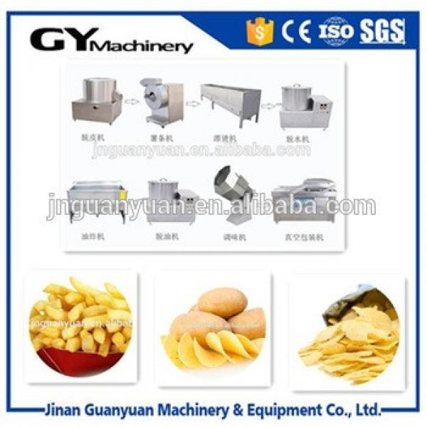 Small potato chips making machines /potato chips making machine/potato flakes production line