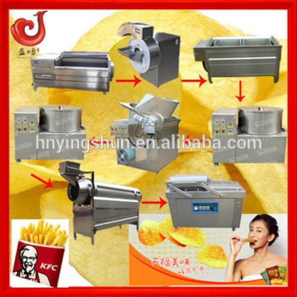 potato chips making machine for chips