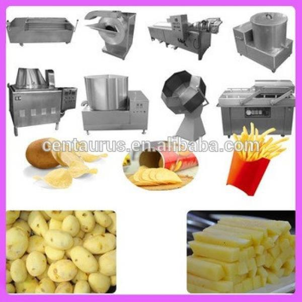 Industrial small business ideas fried corn chips making machine