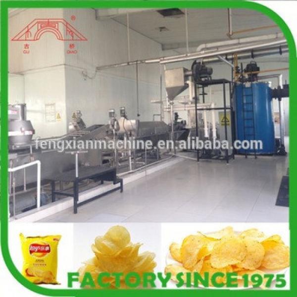 fresh potato chips making machine for factory