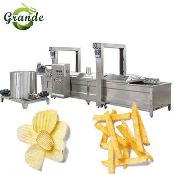 Full Automatic Potato Chips Machine/Small Potato Chips Making Machine