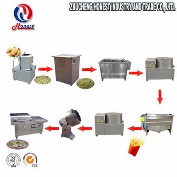 30Kg Fully Small Automatic Potato Chips Making Machine Price