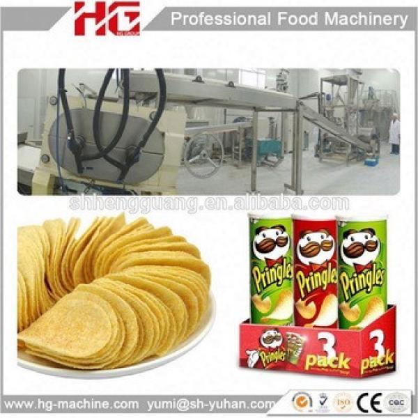 HG 250Kg per hour automatic Pringles potato chips making machine