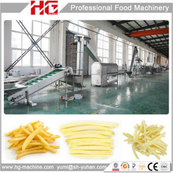 Best price industrial potato chips making machine from Shanghai