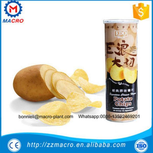 Low cost potato chips crisp making machine