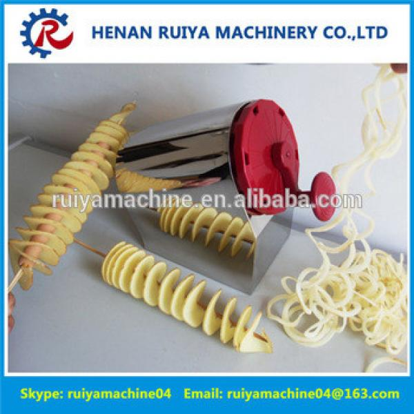 Manual Tornado Potato Twist Cutter Spiral Potato Slicer Potato Machine