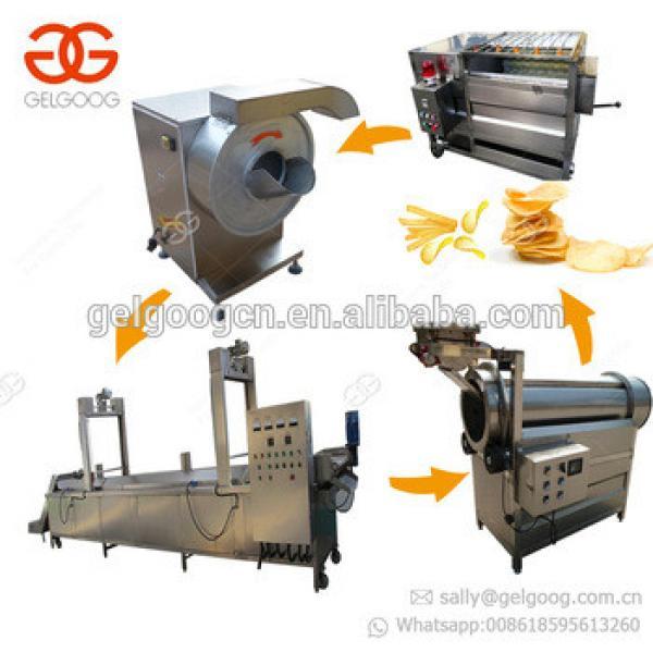 Good Performance Finger Potato Chips Plant Cost French Fries Making Machine Potato Chips Machine Price