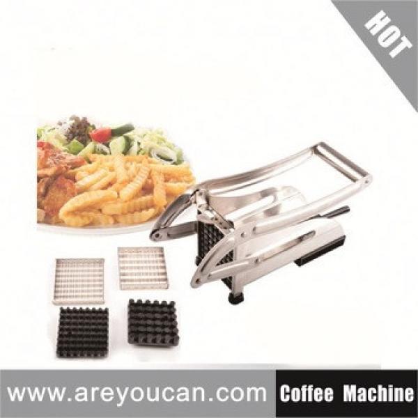 hand French fries chips potato machine