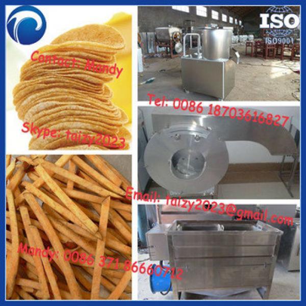 60kg/h potato chips making machine,small scale potato chips making line