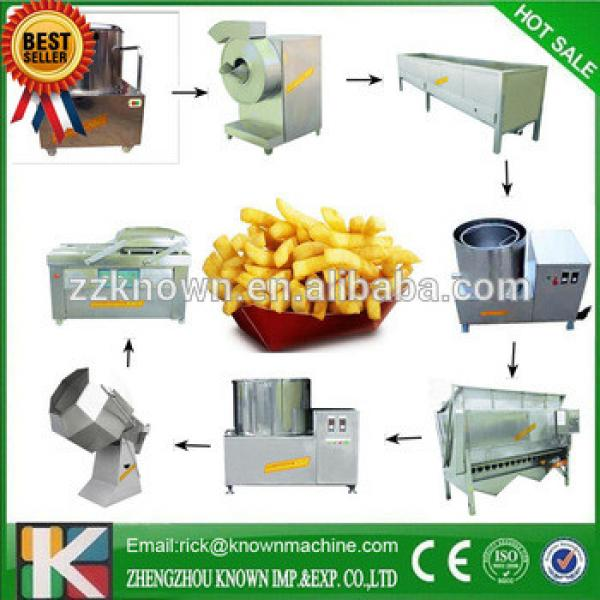 hot sale french fries production line /automatic potato chips making machine/frozen potato chips line