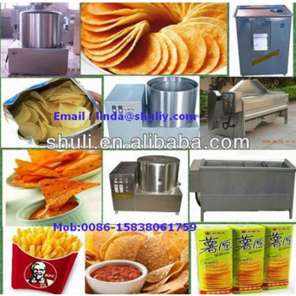 potato flakes production line, potato chips machine // 0086-15838061759