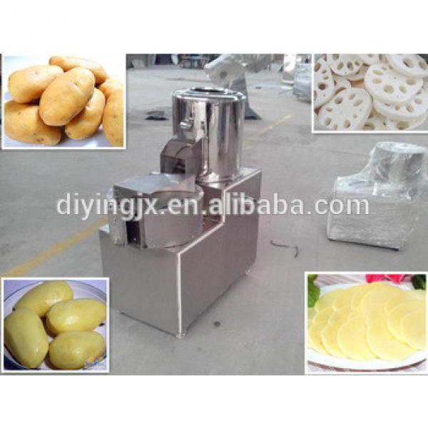 carrot/Lotus root/potato chip peeling and slicing machine