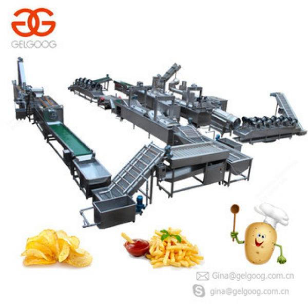 2018 Professional Supplier Best Price Lays Potato Chips Making Machine For Sale