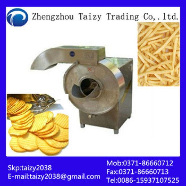 2013 most popular stainless steel potato chip cutter potato crisp making machine