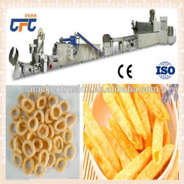 Potato slanty chip Extruder making machine