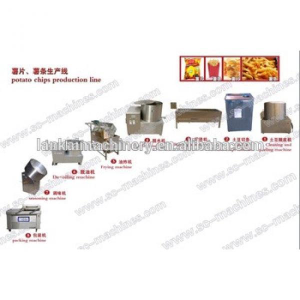 good quality potato chips making machine/potato chips machine with low price