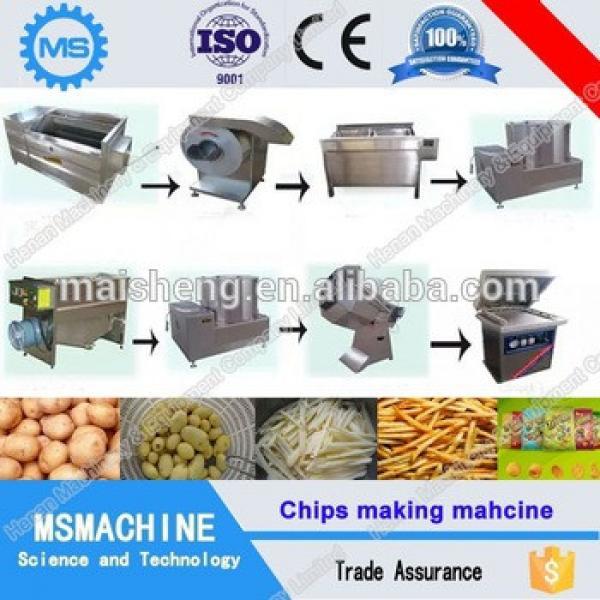 High quality banana chips making machine