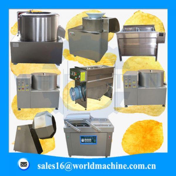 automatic frying potato chips making machine/potato chips pellet line for sale