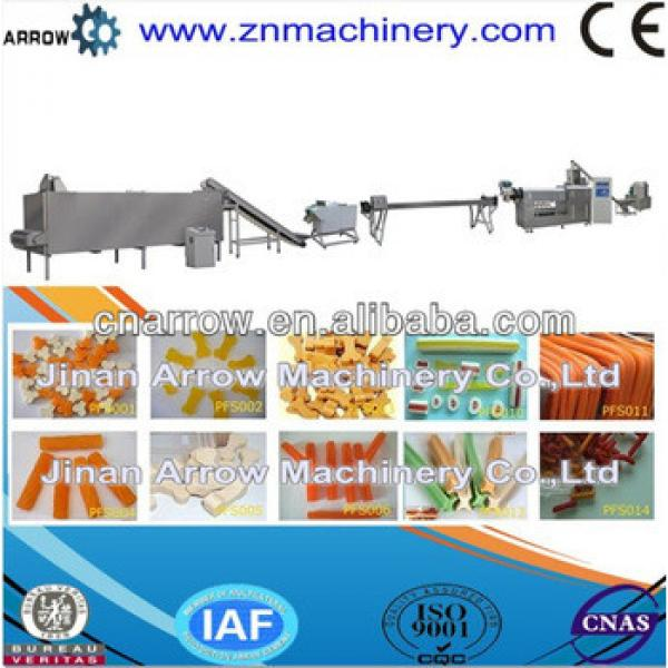 100kg/h Capacity High Quality Dog Food Candy Pet Snack Chewing Gum Making Machine