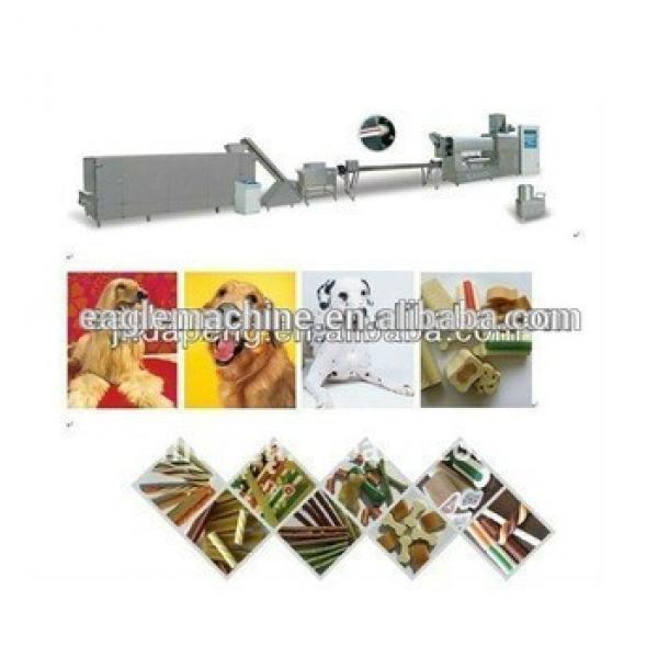 DPS-100 Pet /dog chewing food making machine /making plant/ extrision line in china