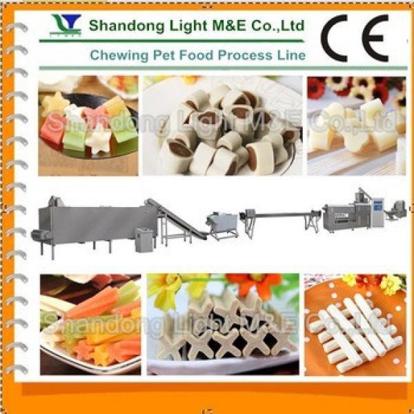 Factory Price shandong Light Pet Chewing Food Making Machine