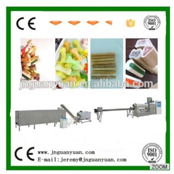 High quality fully Automatic dog chewing food processing line