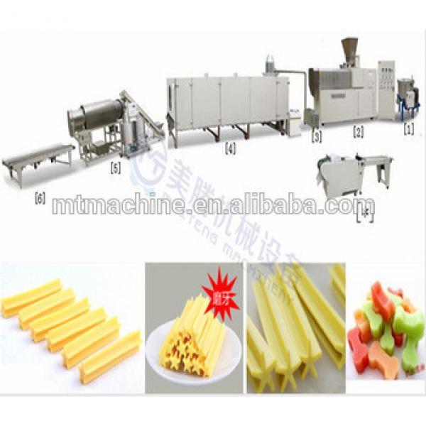 core filling single screw dog chewing food machine