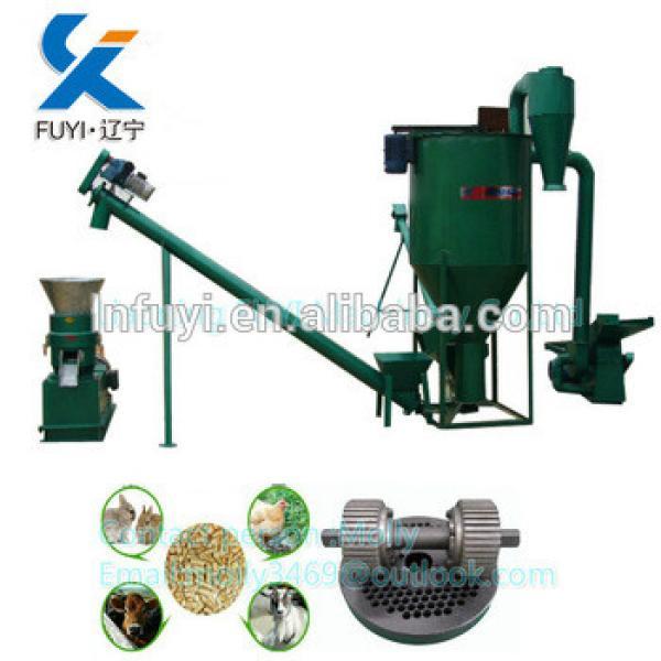 Animal flat die pellet mill feed pellet machine on hot selling