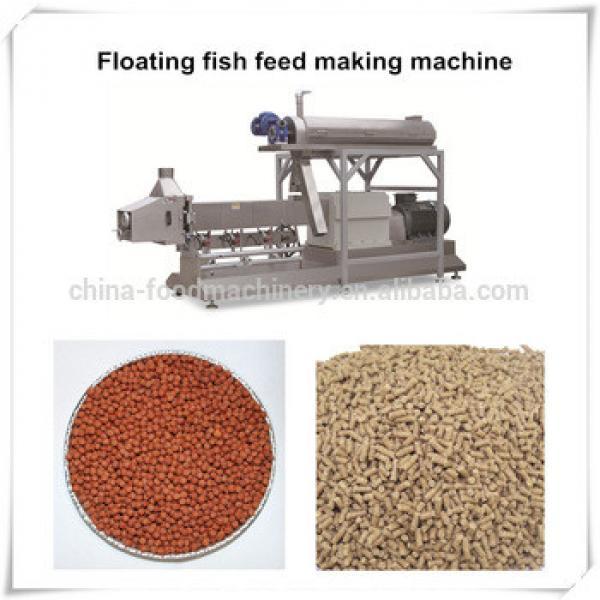 Full-automatic animal fish food feed making machine / production line