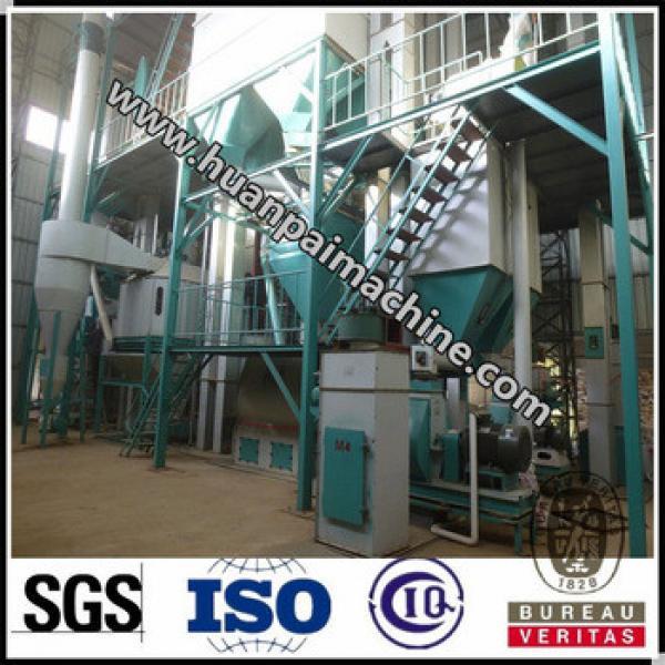 High efficiency animal feed processing machines