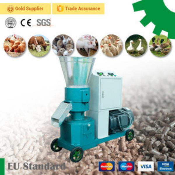 GEMCO Factory price grass alfalfa fish chicken cattle rabbit animal feed pellet maker poultry feed pellet making machine