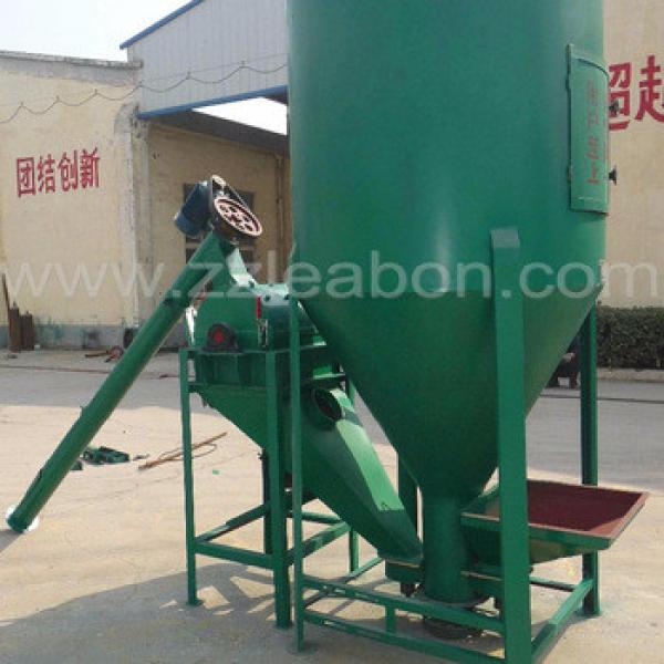 Easy control feed mixing machine animal feed mill mixer machine for sale