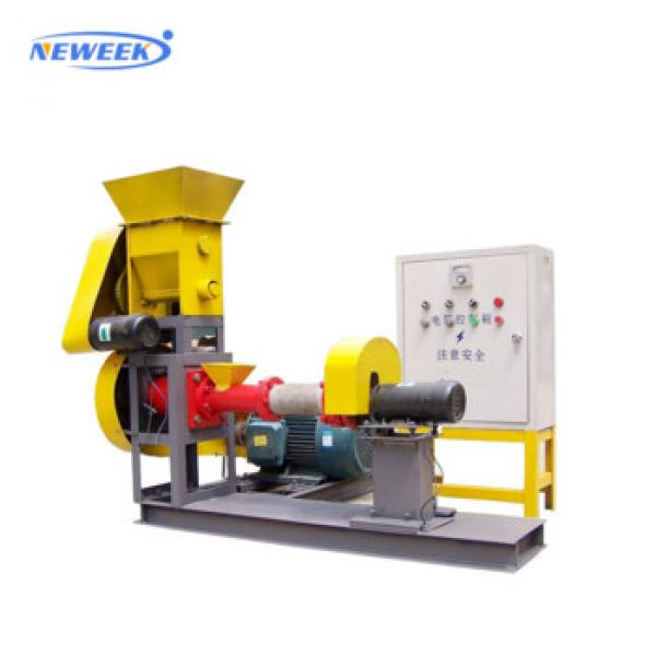 Neweek electric multifunction dog food floating fish animal feed pellet making machine