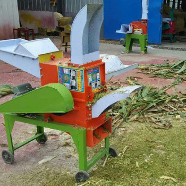 Animal feed grass cutting machine