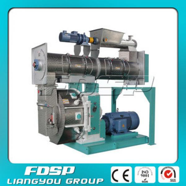 Easy operation animal feed block pressing machine