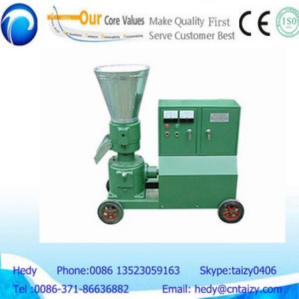 horizontal dieing pelletizer machine for animal feeds