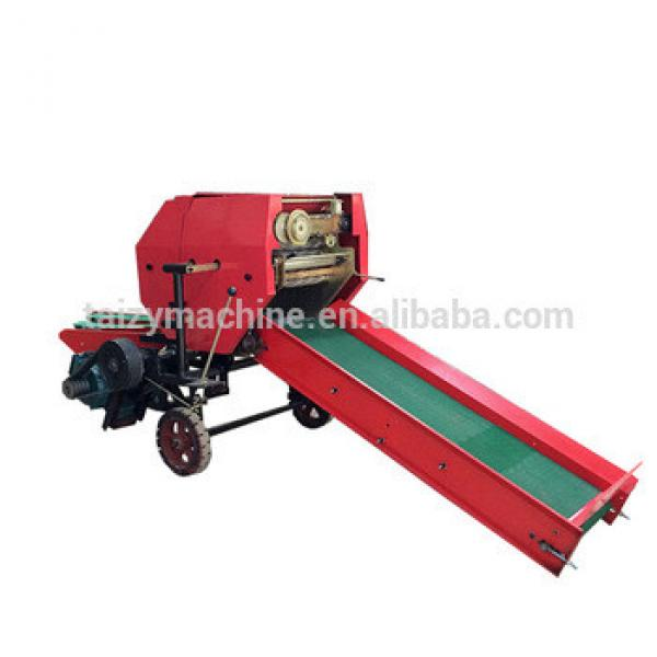 Automatic grass animal feed bale and packing machine automatic horizontal hay baler machine