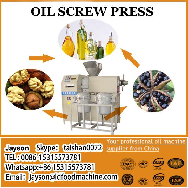 Model zl-120 screw oil press for copra/cold press machine
